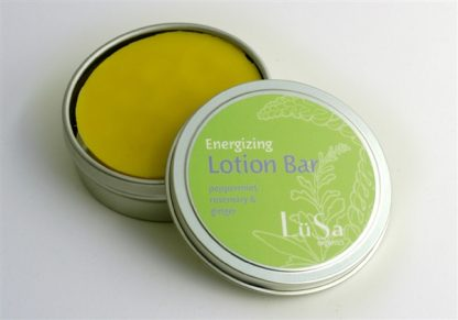 lusa organics lotion bars engergizing