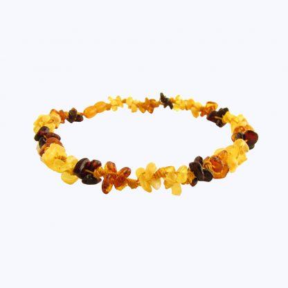 Baltic Amber 7-8 inch Bracelet- Multi Knots