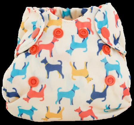 Born Smart Newborn Organic Cloth Diaper by Smart Bottoms Rover