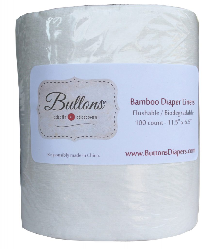 buttons diapers flushable bamboo liners a much better way