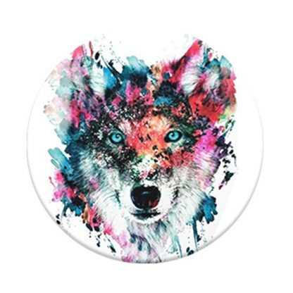 popsocket fantasy wolf
