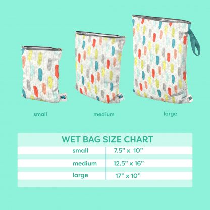 Planetwise Wet Bag Size Chart